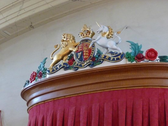 Province House National Historic Site of Canada: Let's remember that Canada'a crest has a unicorn on it