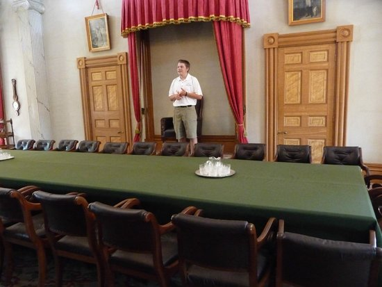 Province House National Historic Site of Canada: Our tour guide Tristan was very well informed