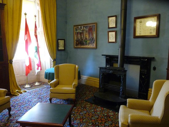 Province House National Historic Site of Canada: The library -although most of the book are being preserved elsewhere