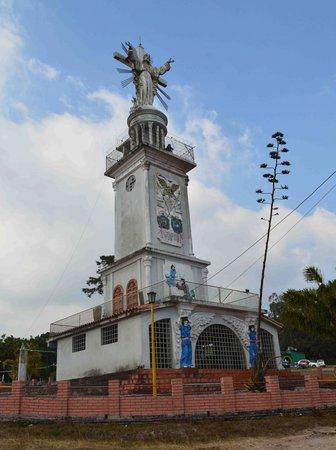 San Antonio del Tachira, Venezuela: vista del cristo