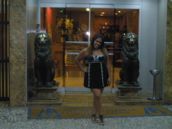 Hotel Astoria Copacabana: ENTRADA DEL HOTEL