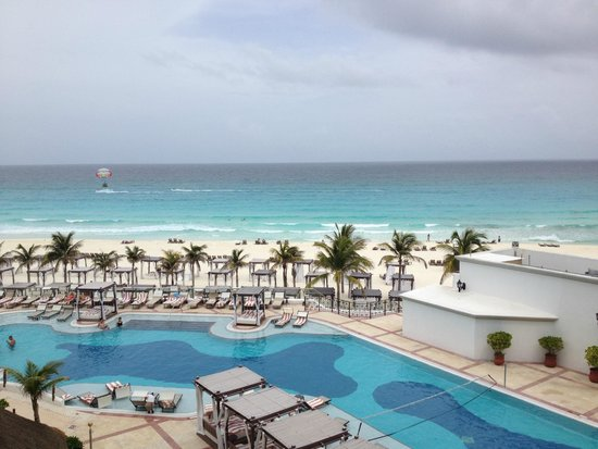 Hyatt Zilara Cancun: view from balcony