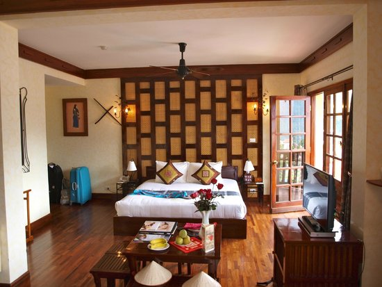 Victoria Sapa Resort and Spa: chambre familiale