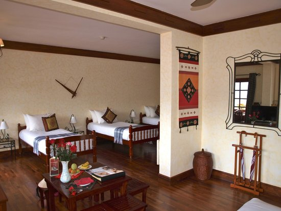 Victoria Sapa Resort and Spa: chambre familiale.. suite