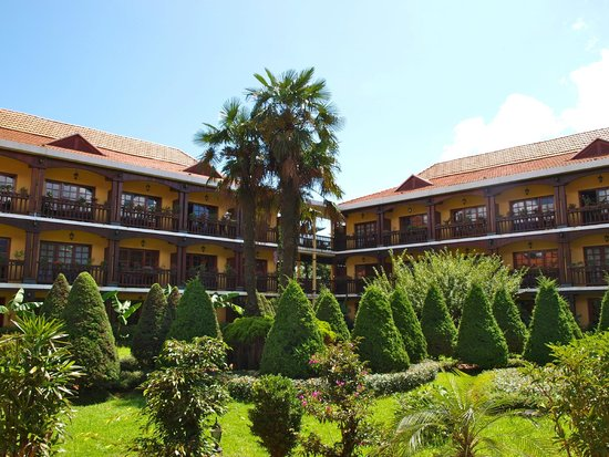 Victoria Sapa Resort and Spa: le jardin