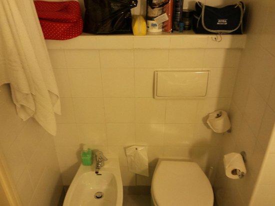 Ibis Lisboa Saldanha: Casa de banho (quarto)