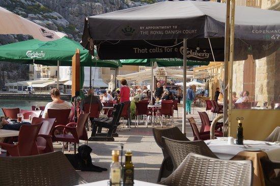 San Andrea Hotel: Terrasse
