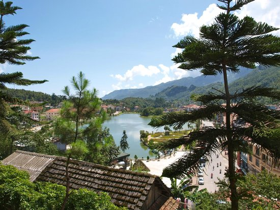 Victoria Sapa Resort and Spa : vue de notre chambre