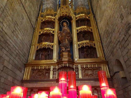 Église Sainte-Marie-de-la-Mer : St. Mary of the Sea Cathedral (Iglesia de Santa Maria del Mar)