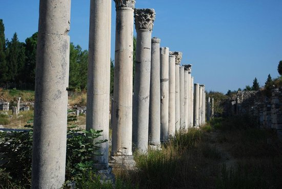 State Agora: Columns from the Agora Market Place AFTER Celsus.
