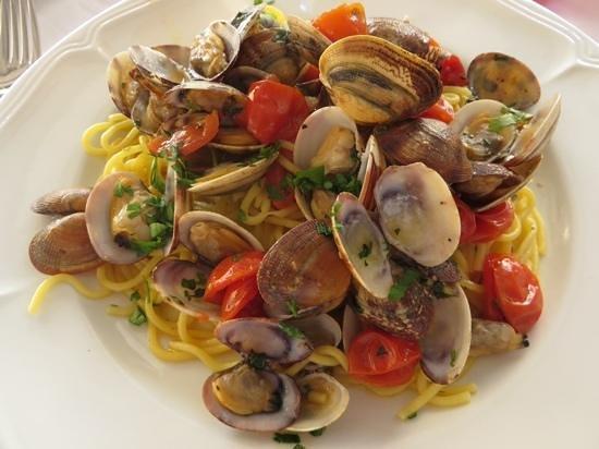 Ristorante La Pace : spaghetti alle vongole