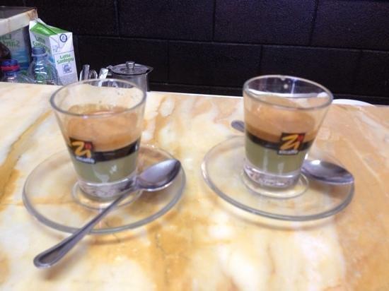 Bar du Marinaru : il caffè al pistacchio