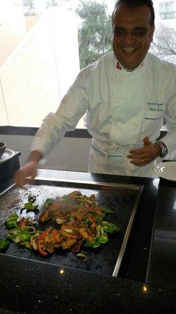SENTIDO Rosa Beach : Freshly cooked food