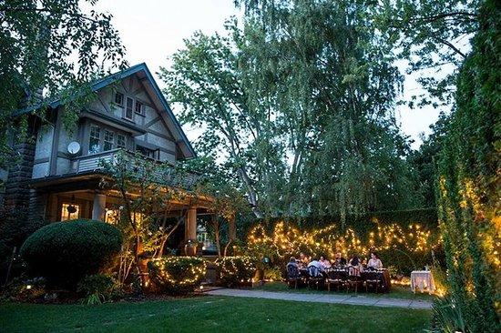 Green Gables Inn: Outdoor Dining
