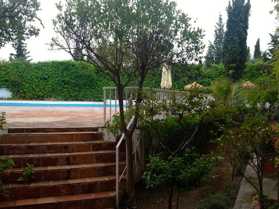 Hotel Alixares: The swimming pool