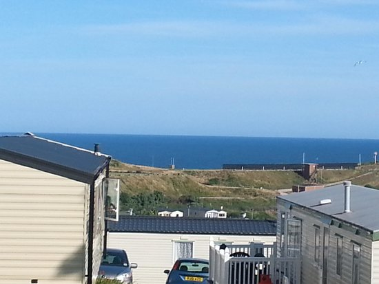Devon Cliffs Holiday Park - Haven: view from our caravan