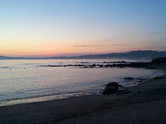 Hotel Lanzada: Pôr do sol