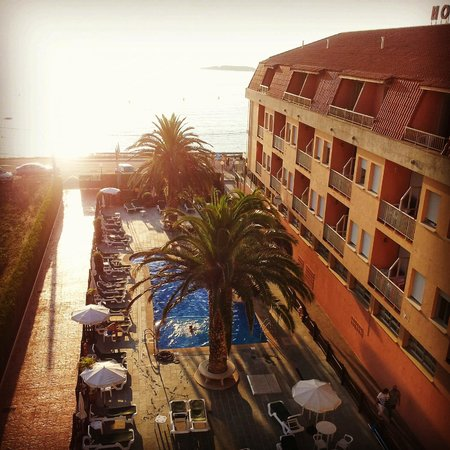 Hotel Lanzada: Vista da piscina