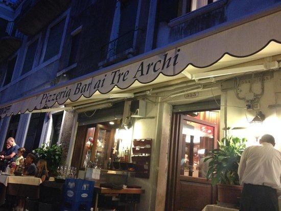 Ai Tre Archi: Wonderful food!