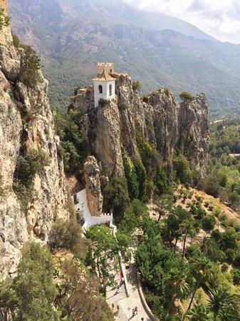 Guadalest Valley : Burgeingang