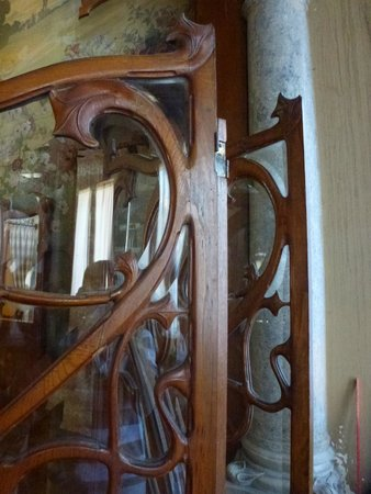 Grand Hotel Villa Igiea - MGallery by Sofitel: detail dans la salle Art Nouveau