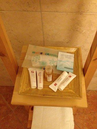 Hotel Bellavista: Amenitis del baño