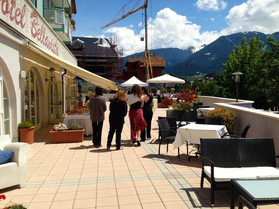 Hotel Bellavista: Terraza exterior