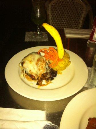 Cafe La Princesa: Churrasco italianísimo, uno de los mejores platos
