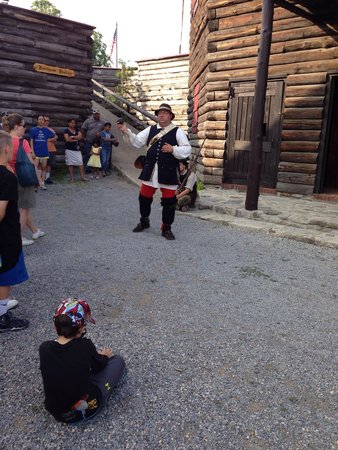 The Fort William Henry Museum & Restoration: Tour guide