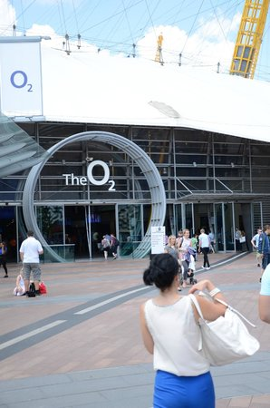 The O2 : Wejscie