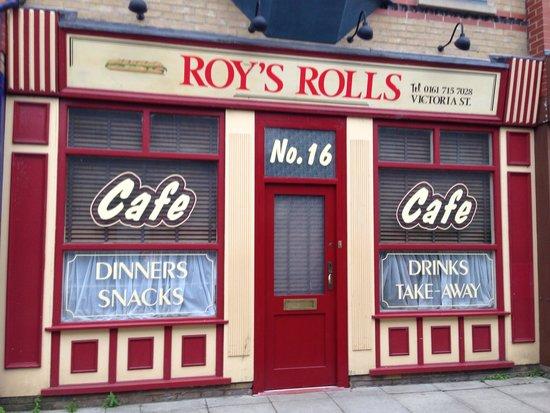 Granada Studios: Roys rolls
