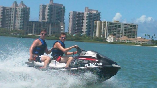 Clearwater Beach Jet Ski  Rentals and Guided Tours: Clearwater Bay August 2014