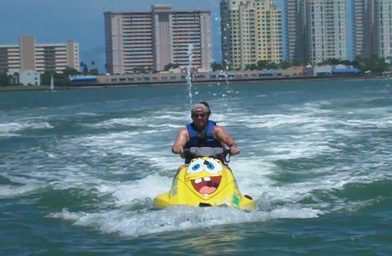 Clearwater Beach Jet Ski  Rentals and Guided Tours : Clearwater Bay August 2014