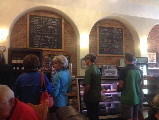 City on a Hill Coffee & Espresso: Interior