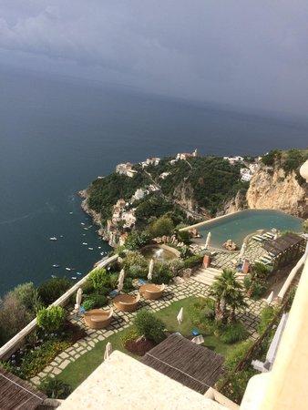 Monastero Santa Rosa Hotel & Spa : View