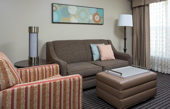 Homewood Suites by Hilton Houston Willowbrook Mall: Suite living area
