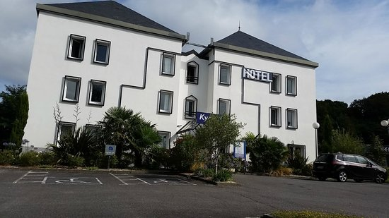 Kyriad Quimper Sud : front of hotel