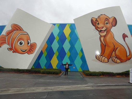 Disney's Art of Animation Resort : entrada do hotel