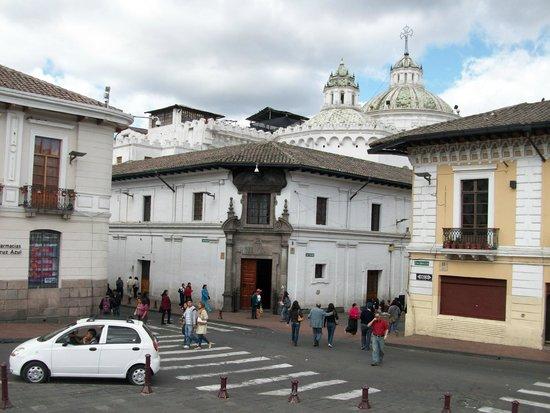 Plaza de San Francisco: mit Blick auf Jesuitenkirchentürme?