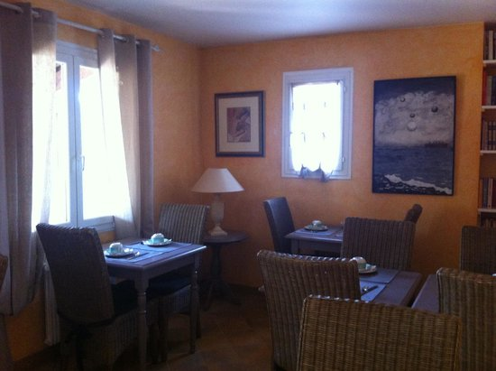 Le sale dell'Hotel Les Oliviers