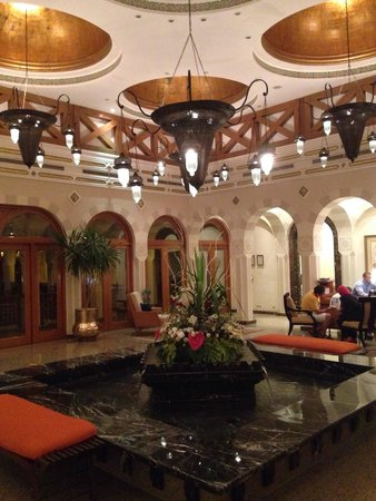 The Oberoi Sahl Hasheesh : Lobby