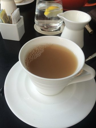 The Ritz-Carlton, Toronto: does this look like a strong cuppa to you?