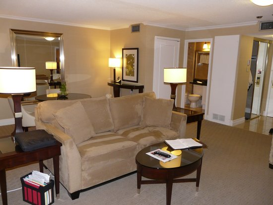 Albert at Bay Suite Hotel: Livingroom/dining