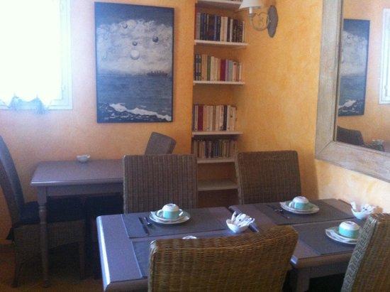Hotel Les Oliviers : La sala per la colazione