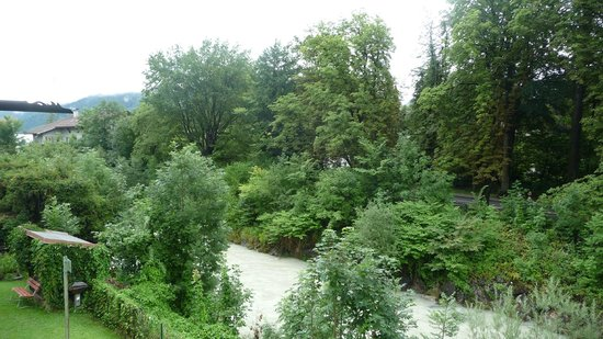 Hotel Aschenbrenner: view from room