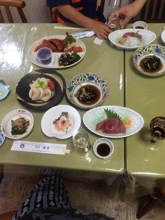 Yokokura Ryokan: 夕食