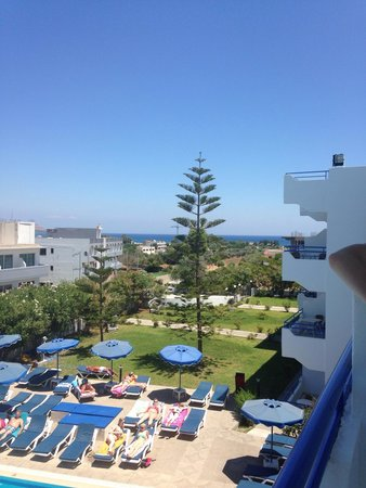 Rodos Sun: View from room 311-312