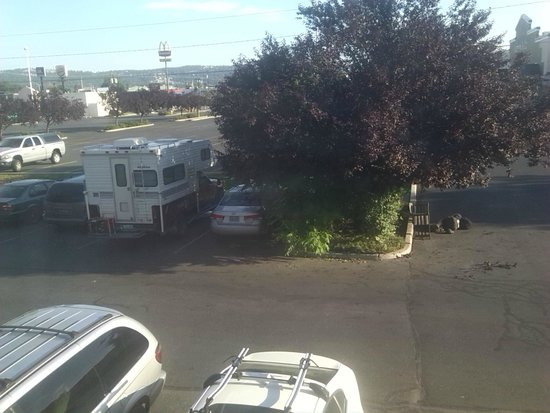 Super 8 Spokane Valley: view from the room