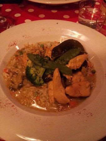 La Cuisine des Anges : Chicken curry with coconut milk