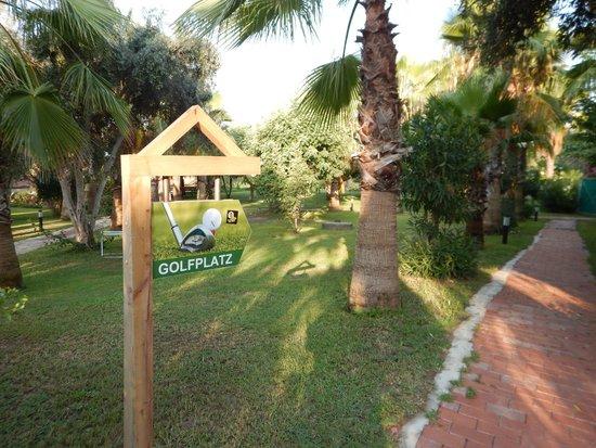 Defne Garden: Hotelgarten